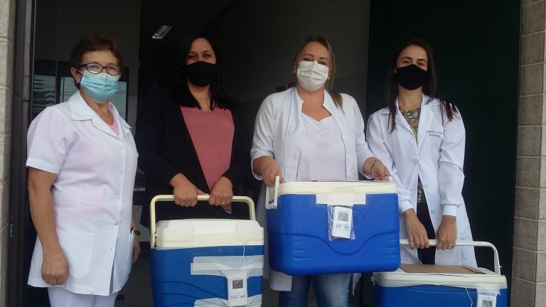 SRS Passos distribui 13ª remessa de vacinas aos municípios