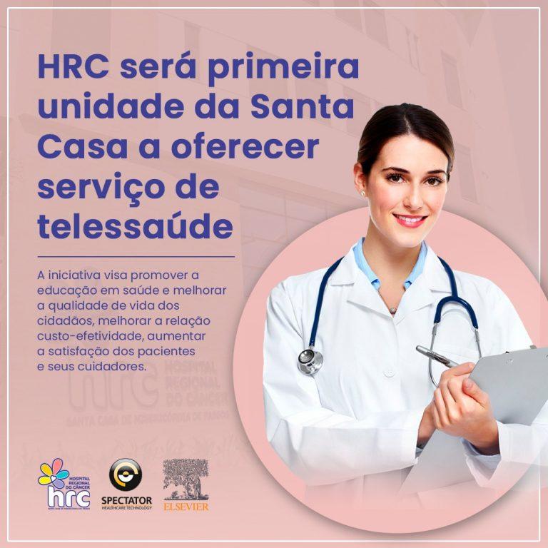Parceria com Spectator introduz telemedicina na Santa Casa de Passos
