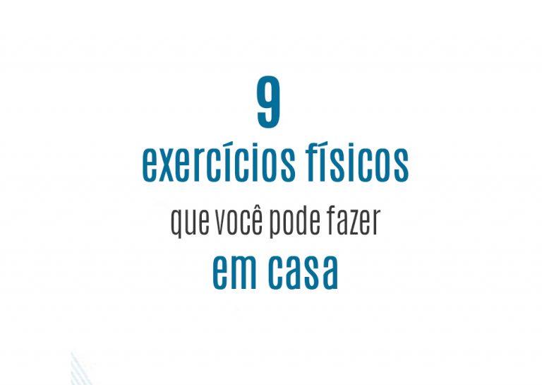 Read more about the article 9 exercícios físicos que você pode fazer em casa