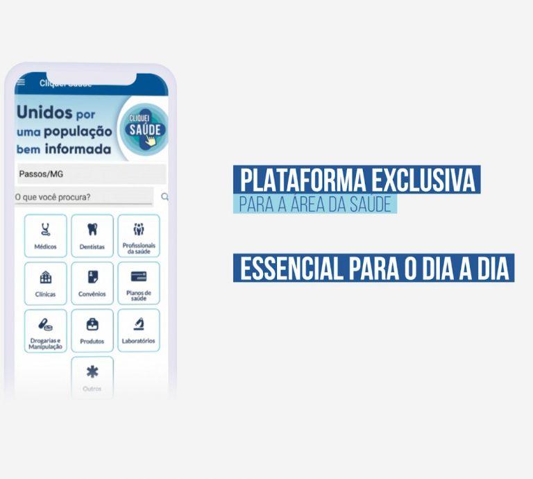 """Read more about the article Baixe agora o App """"Cliquei Saúde!"""""""